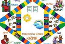 Games in Counseling / Therapeutic games and everyday games used to help children and families connect, explore feelings and develop social skills.  Don't forget to also check-out my web page KayTrotter.com. CONTENT IS RESOURCES ONLY AND SHOULD NOT BE CONSIDERED MEDICAL ADVICE