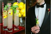 R&R / Red and yellow wedding elegant