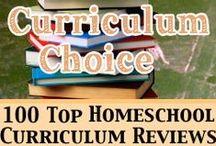 Homeschool Reviews by The Curriculum Choice / Reviews from our team of homeschool veterans - of curricula they love and use in their homeschools!