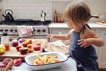Kids in the Kitchen / Colorful foods for colorful kids kitchen products  from BABYBJÖRN.