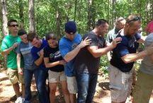 Team-building, Adventure-based and Nature-based Activites / Team Building Activities from children to adults...create community and Increase confidence and more. Adventure Based Group Therapy Activities, Ideas & Themes. Icebreakers. Adventure-based and nature-based experiences can be used to foster psychological healing and growth. CONTENT IS RESOURCES ONLY.