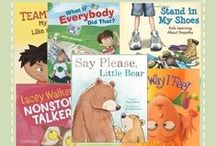 Books....Kids Emotions and Feelings / Books that help children's Social emotional learning.  A process for learning life skills, including how to deal with oneself, others and relationships, and work in an effective manner.
