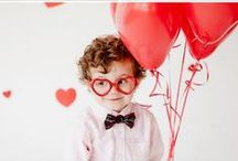 Valentine's Day / Valentine's inspiration for parents, kids and friends.
