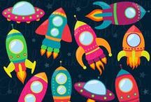 Rocket / Space Party / by Lanny McCormack