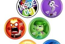 """Inside Out ✿ Feelings and Emotions / These """"Inside Out"""" resources offers families fun and educational whys to look at explore and handles emotions, personality and their psychological underpinnings."""