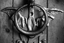 Don't Knock It! / beautiful door knockers and door knobs