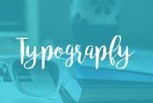 Typography | Typografia / Fpnt, nie czcionka