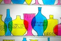 """Art for Kids: Painting and Drawing / As a Mom and an Art Teacher I am always looking for creative ideas to use with my children and art students. Here are a few painting and drawing ideas I want to use with my little budding artists! *Don't forget to check out all of my other """"Art Projects for Kids:..."""" Pinterest Boards."""