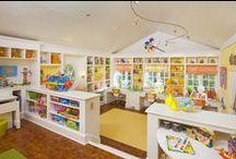 Playroom/Learning Area/Bonus Room Ideas / by Shauna Williams