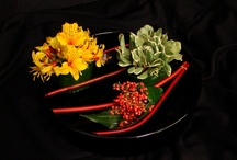 Flowers: Sushi flowers and Ikebana / Flower arrangements with Japanese roots.