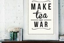 Time for tea (and coffee)