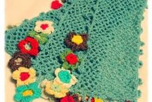 Crochet - scarves, wraps, shawls and stoles