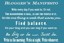 Blogging / All those questions you have about blogging, the little tidbits of information that can make you blogging life a little easier.