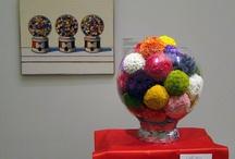 Art: Bouquets to Art / Flowers interpreting works of art.