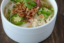 soup / When you  have a good stock, you can make a good soup - Martin Yan