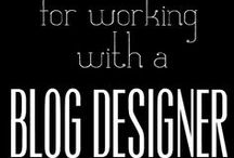Blog Design / From thinking about a new design, to talking to a designer, to having it installed, Blog Design