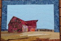 Quilts - Landscapes / Landscape art quilts.   / by Amy Munson