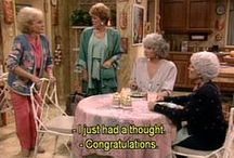 the golden girls / fav show ever. it makes me happy more than anything else in the world ♡