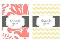 Gift Ideas and Thank Yous. / by Rachel Savage