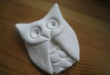 """Art for Kids: Clay, Play-Doh, Glue, / As a Mom and an Art Teacher I am always looking for creative ideas to use with my children and art students. Here are a few clay and play-doh projects  I want to try with my little budding artists! *Don't forget to check out all of my other """"Art Projects for Kids:..."""" Pinterest Boards."""