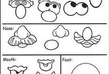 """Art for Kids: Art Printables and Visual Aides / As a Mom and an Art Teacher I am always looking for creative ideas to use with my children and art students. Here are a few printables and visual aides I want to use with my little budding artists! *Don't forget to check out all of my other """"Art Projects for Kids:..."""" Pinterest Boards."""