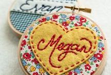 Sewing Projects / Wonderful sewing, embroidery, and cross-stitching ideas.