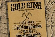 Events: Gold Rush / Event theme: Gold rush, Western