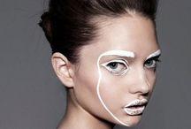 Avantgarde makeup