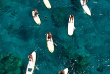Sailing + Paddleboarding / I live 5 minutes from the sea - any day you can find me sailing or paddleboarding.