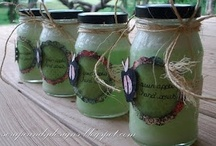 Gifts in a Jar / Great ideas these gifts in a jar!