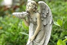 Angels - Statuary / by Ann F Luckett