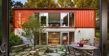 Storage Container Homes / Who wouldn't live in a sustainable storage container home?