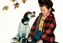 Artist Norman Rockwell / by Ann F Luckett
