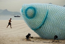Recycled Art / Beautiful installations made from recycled pieces!