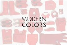 Modern Colors / Color – cool or warm, muted or bright - soothes and stimulates our senses, and suits the seasons: Spring fresh brights. Summer jewel tones. Black and white, striking in their stark absence of color, perfect anytime. Modern color ranges full spectrum, starting with earthy shades for autumn – fall in and take a look! Discover our latest watches at www.movado.com. / by Movado