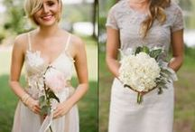 Sweet and simple bouquets / For the budgeted bride with 5+ bridemaids