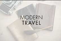 Modern Travel / Must-have travel accessories. Intriguing destinations. Treasured trinkets from around the world. Movado celebrates the art of modern travel with inspired design.