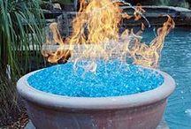 THE GARDEN - FIRE, WATER, EARTH, & REST STOPS! / ENJOYING THE GARDEN / by Sue Lodmill