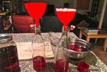THE FOOD - DRINKS MADE @ HOME / CREATIVE DRINKS TO MAKE.............. / by Sue Lodmill