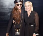 Celebrities at Fashion Week / The stars and style setters sitting front row at fashion shows.