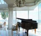 Featured Piano and Home Decor