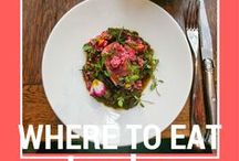 Places to eat in London / Recommendations for places to eat in London and other places