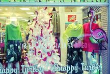 I'm dreaming of a pink and green christmas / by snappy turtle