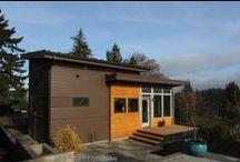 Lake Washington Cabin / A lake washington backyard cottage is the perfect retreat for a grandmother