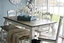 {Dining Room} / Home decor and DIY decorating for the dining room.