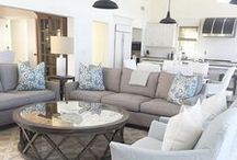 {Living Room} / Living room designs and home decor ideas.