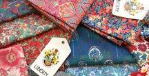 Liberty  of London Fabrics and Prints / Fabrics, stationary, gifts, and clothing made from iconic Liberty of London prints.