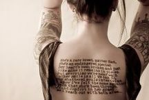 Tattoos / by Jayne Simpson