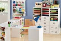 Craft Room- Design / One day I will have my craft room organized, beautiful, and FULL of fun stuff to do. / by Sheleen Broaddus