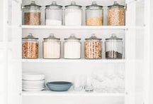 Glass Jar Organization / In a glass of your own! Peep these perfectly inspired storage and organization pins for one-of-a-kind home decor!